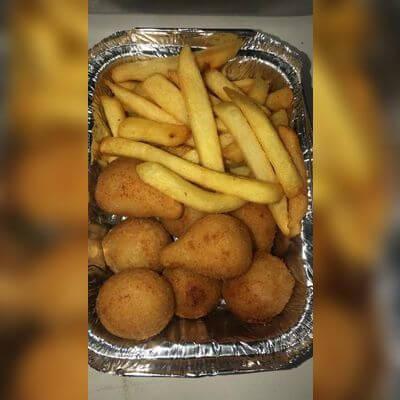 Porção Batatas e Salgados