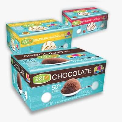 Pote Zero Chocolate 50% Cacau - 1L