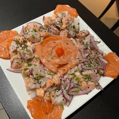 Ceviche temaki sushi bar