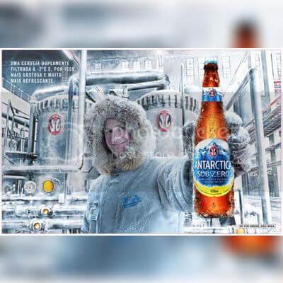 Cerveja Antártica Sub Zero   600ml
