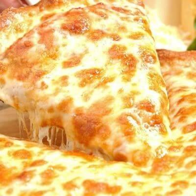 Pizza Quatro Queijos Com Borda