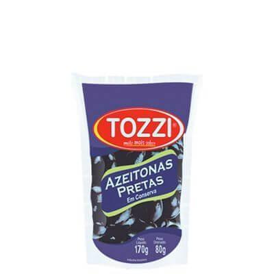 Azeitona Preta Tozzi 170g