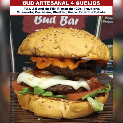 Bud Artesanal 4 Queijos Duplo