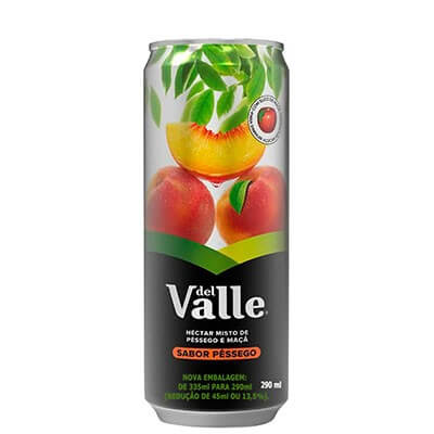 Suco Dell Vale Pêssego - 290ml