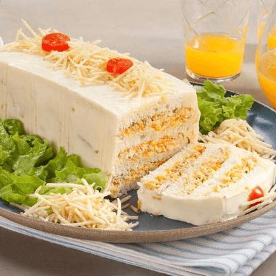 Bolo (Torta) Salgada - 1 fatia