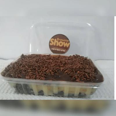 Marmitinha Brownie Recheada Com Cobertura P 6