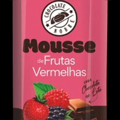 Mousse Frutas Vermelhas