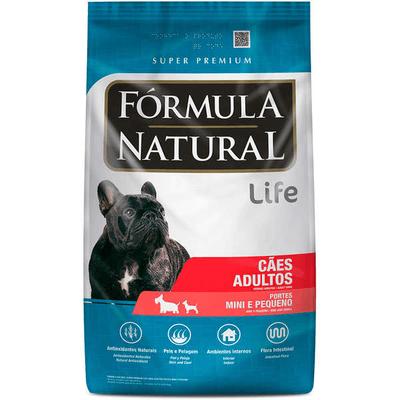 Fórmula Natural Cães Adultos Pequeno Porte 500 Gramas