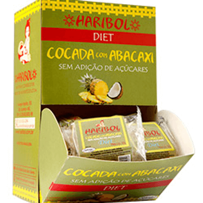 Doce Diet - Cocada com Abacaxi - 20g