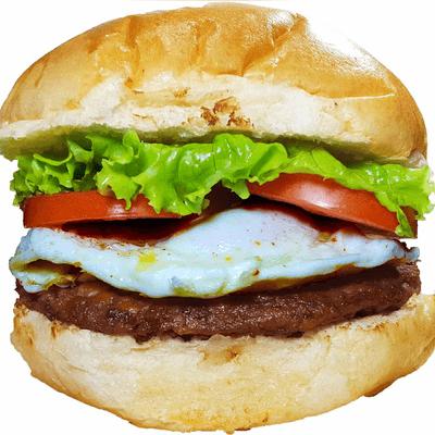 X-Egg Burger