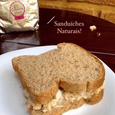 Sanduíche Natural - Frango com Palmito