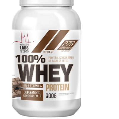 100% Whey Protein Health Labs 900g - Chocolate