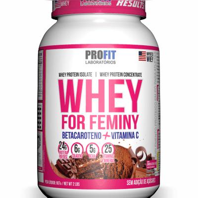 WHEY For Feminy (Desenvolvido para mulheres)