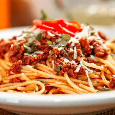 Espaguete Bolonhesa