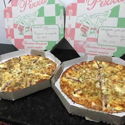 Pizzas Grandes - 35cm   8 Pedaços