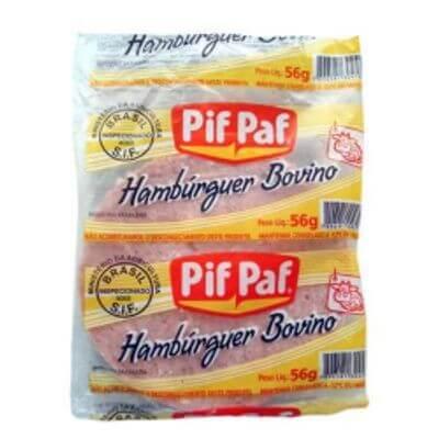 Bife de Hambúrguer Pif Paf - 1 Unidade