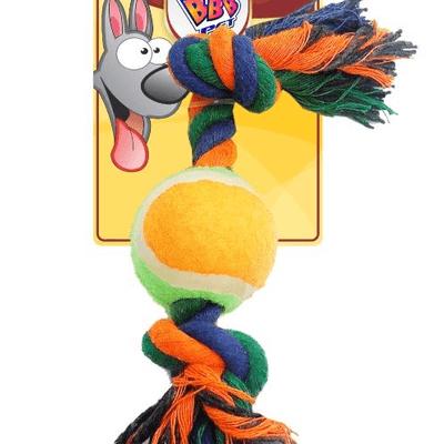 Mordedor corda com bola grande