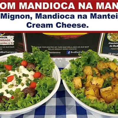Filé Mignon com Mandioca na Manteiga