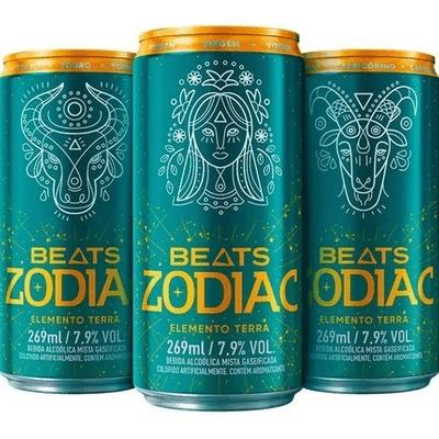Skol Beats Zodiac - Elemento TERRA 269ml
