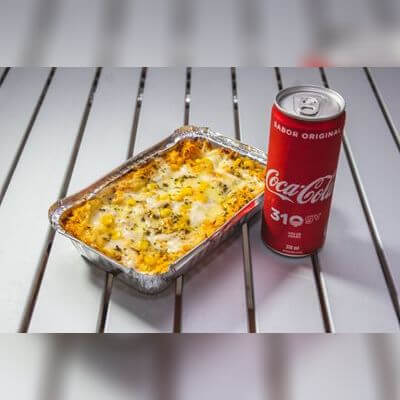Combos: Lasanha Média + Coca-Cola 310ml