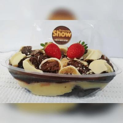 Marmitinha De Brownie Recheada Com Cobertura G 2