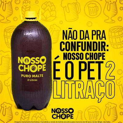 NOSSO CHOPE PURO MALTE 2 L