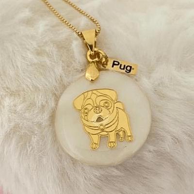 Colar Pug