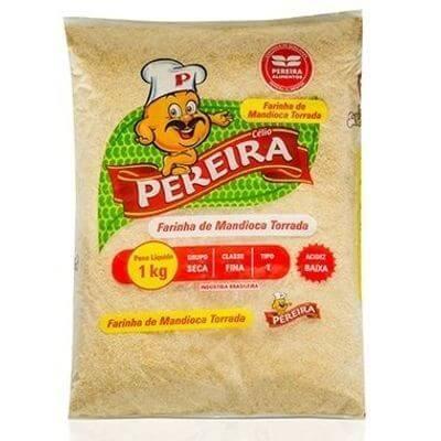 Farinha de Mandioca Torrada Pereira - 1kg