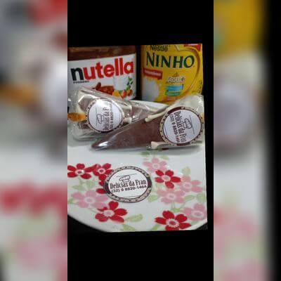 Leite Ninho com Nutella