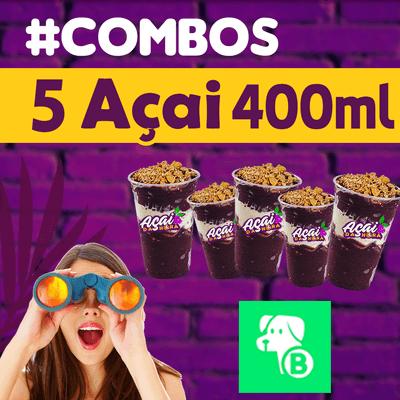 #Combo 5x copos 440 ml