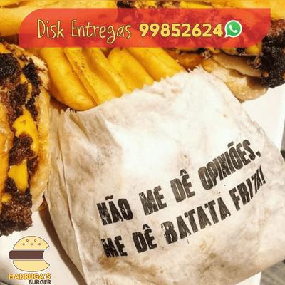 Batata  TEMPERADA COM  Catupiry  (SERVE 2 PESSOAS)