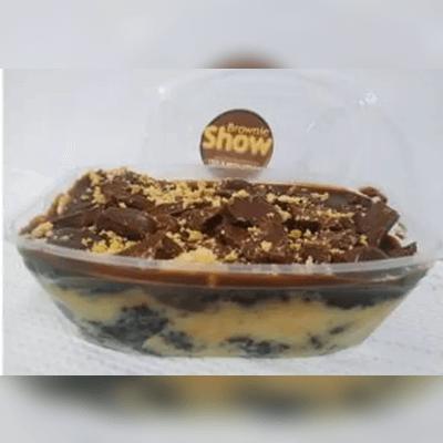 Marmitinha de Brownie Recheada Com Cobertura G 4
