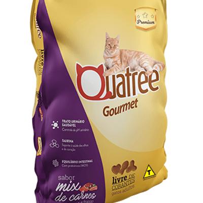 Quatree Gato castrados Premium 1kg a granel