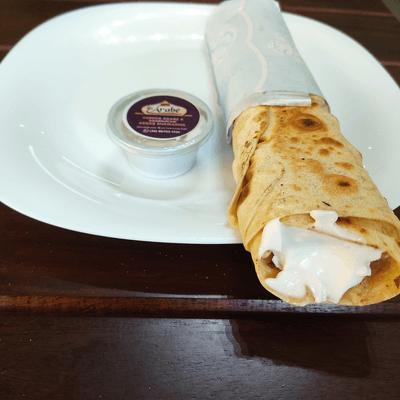 X-kebab de frango