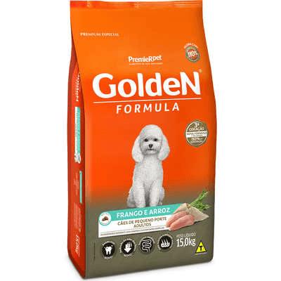 Golden Cães Adultos Pequeno Porte 15 KG