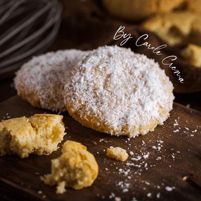 Cookie Gelado de coco