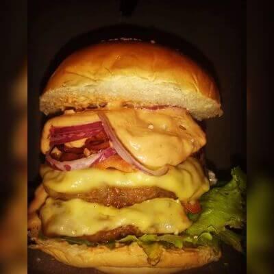 Duplo Hambúrguer Artesanal