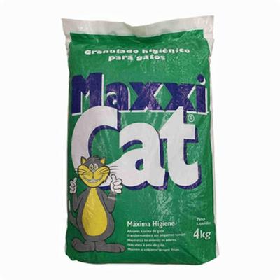 Areia higiênica Maxxi Cat 4kg