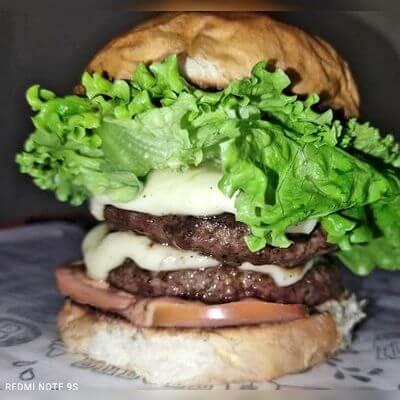 03 - Double Salada Burger