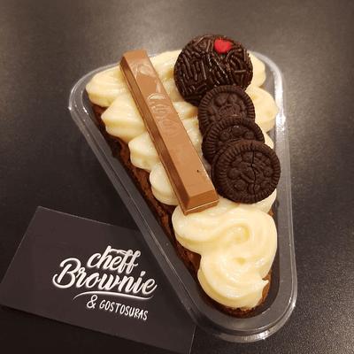 Fatia de Brownie