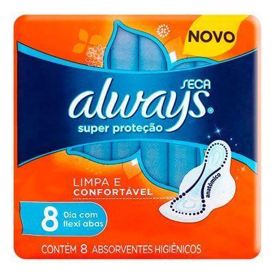 Absorvente Always - 8 Unidades