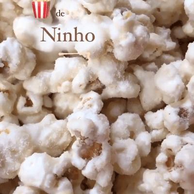 Pipoca Gourmet - Sabor ninho