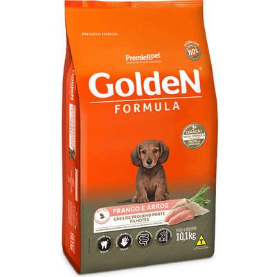 Golden Cães Filhotes Pequeno Porte 10 KG