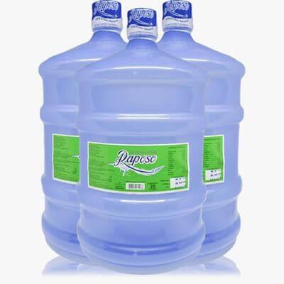 Água Mineral Raposo 20L + Vasilhame