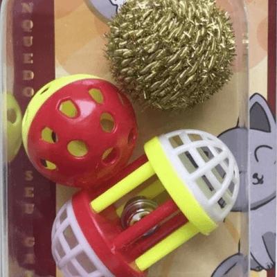 Kit Brinquedos Gato
