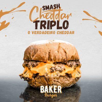 Triplo Smash Cheddar