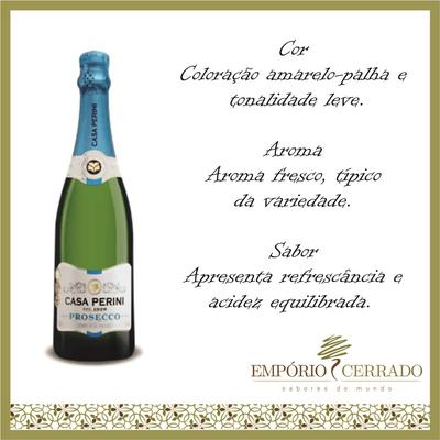 Vinho Brasileiro Casa Peririni Prosecco - 750ml