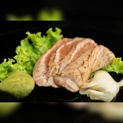 Sashimi Salmão Brulee