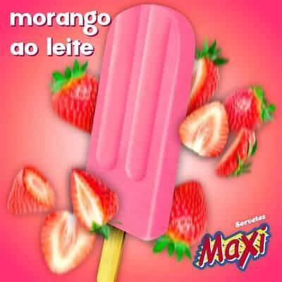 Morango Ao Leite