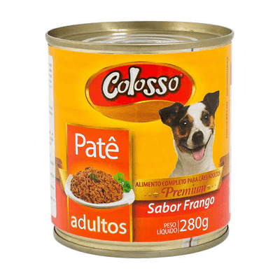 Patê Latinha Sabor frango